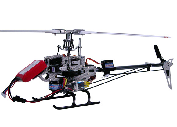 Elicottero Wasp : Elicottero radiocomandato wasp v flybarless ch versione