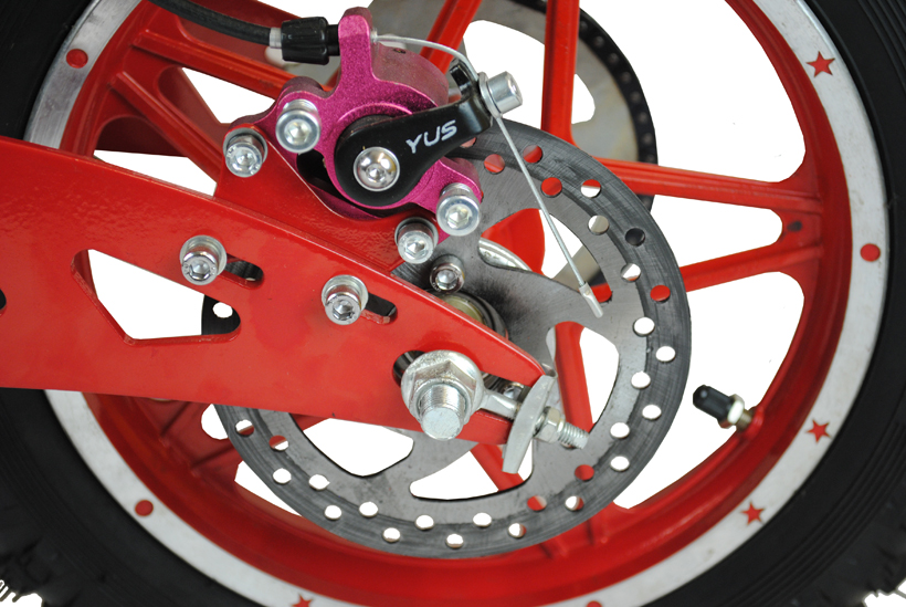 Vented Disc Brakes